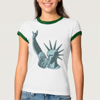 自由主義のな適量の彫像 Tシャツ