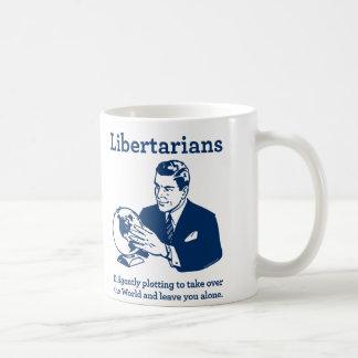 自由主義的なプロット コーヒーマグカップ