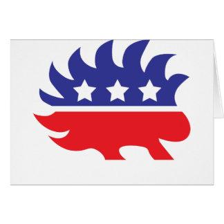 自由主義的なヤマアラシ カード