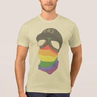 自由主義者およびファシズム-多綿のTシャツ Tシャツ