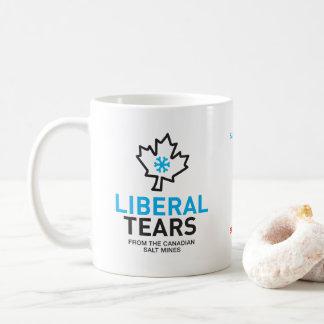 自由主義者は岩塩坑のカナダのおもしろいな連邦主義者を引き裂きます コーヒーマグカップ
