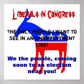 自由主義者は行かなければなりません ポスター