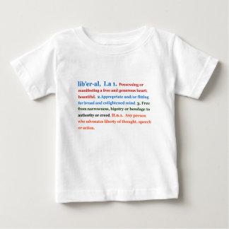 自由主義者 ベビーTシャツ
