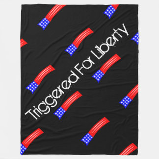 自由毛布の黒のために誘発される大きい フリースブランケット