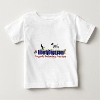 自由犬の秋田の衣服 ベビーTシャツ