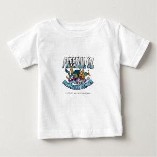 自由落下Oz Skydiving ベビーTシャツ