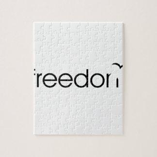 自由 ジグソーパズル