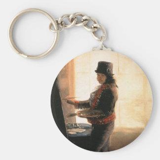 自画像の研修会-フランシスコde Goya キーホルダー