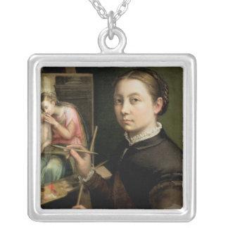 自画像1556年 シルバープレートネックレス