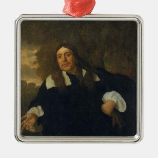 自画像1662年 メタルオーナメント