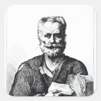 自画像1729年 スクエアシール