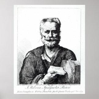 自画像1729年 ポスター