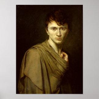 自画像1806年 ポスター