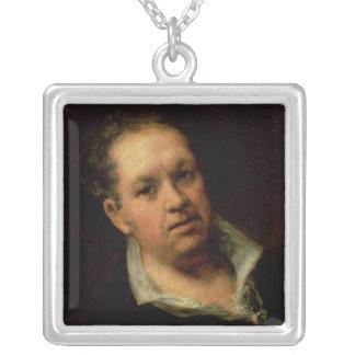自画像1815年 シルバープレートネックレス