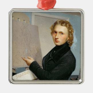 自画像1822年 メタルオーナメント
