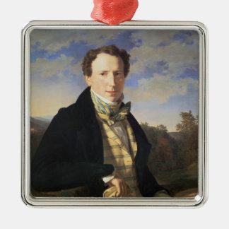 自画像1828年 メタルオーナメント