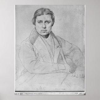 自画像1835年 ポスター