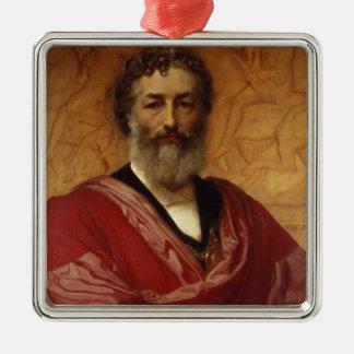 自画像1880年(キャンバスの油) メタルオーナメント