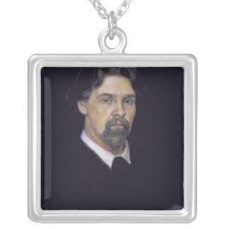 自画像1913年 シルバープレートネックレス