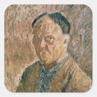自画像1923年 スクエアシール