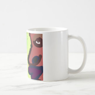 自画像-私 コーヒーマグカップ