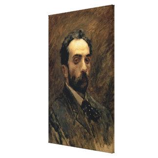 自画像、1890年代 キャンバスプリント