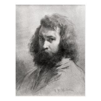 自画像、c.1845-46 ポストカード