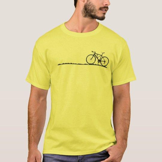 自転車でみちくさ Tシャツ
