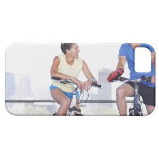 自転車に坐るカップル iPhone SE/5/5s ケース