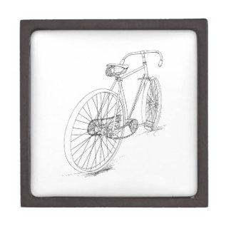 自転車のグラフィック ギフトボックス