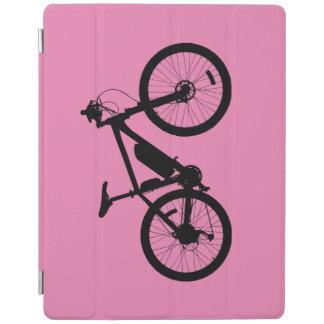 自転車のシルエット iPadスマートカバー