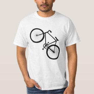 自転車のシルエット Tシャツ