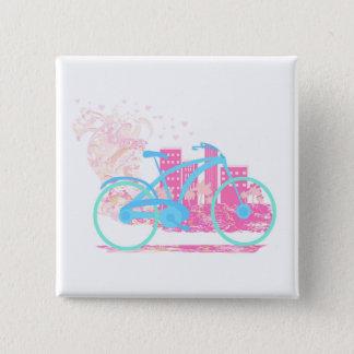 自転車のデザインの   バッジ