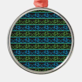 自転車のバイクパターン メタルオーナメント