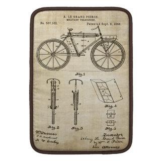 自転車のパテント- Macbookの袖 MacBook スリーブ