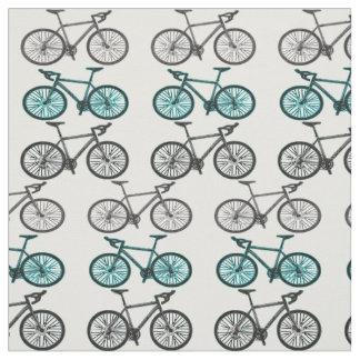 自転車のプリントのデザインの生地材料 ファブリック