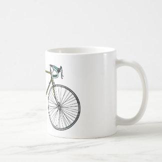 自転車のマグ コーヒーマグカップ