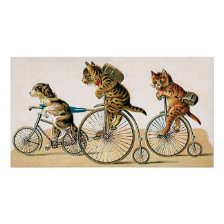 自転車の乗車 ポスター