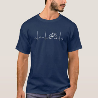 自転車の心拍 Tシャツ