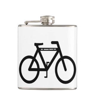 自転車の抽象芸術 フラスク