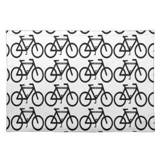 自転車の抽象芸術 ランチョンマット