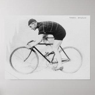 自転車の競争のノルマン人のアンダーソンの側面図 ポスター