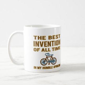 自転車はベストです コーヒーマグカップ