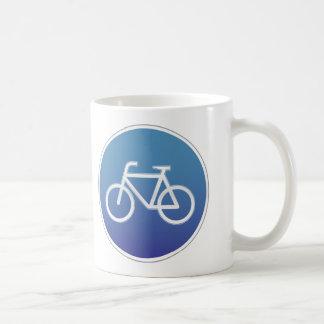 自転車は交通標識を可能にしました コーヒーマグカップ