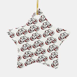 自転車は自転車のパターン多くをタイルを張ります セラミックオーナメント