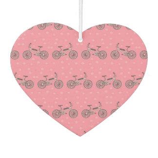 自転車パターン カーエアーフレッシュナー