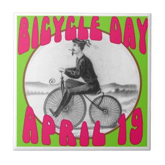 自転車日4月19日 タイル