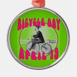 自転車日4月19日 メタルオーナメント