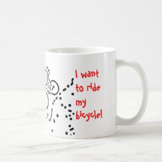 自転車 コーヒーマグカップ