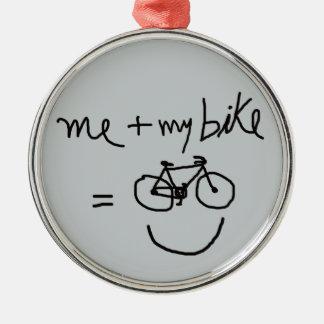 自転車=バイク メタルオーナメント
